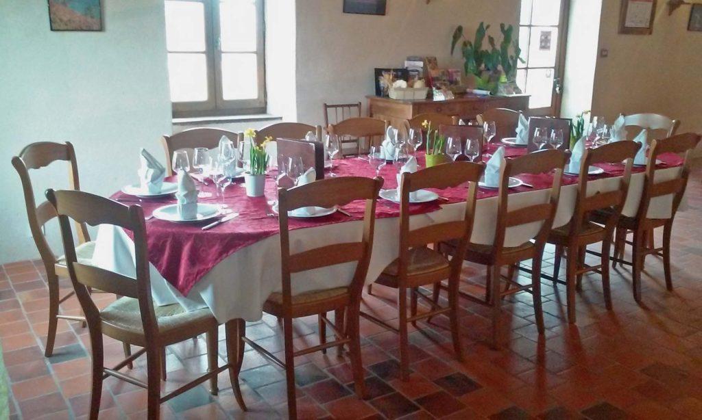Table groupe restaurant la mere elotine lucon