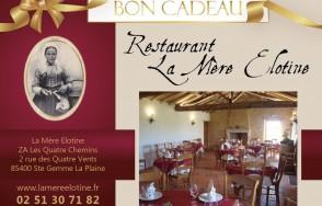Bon cadeau Restaurant la Mere Elotine